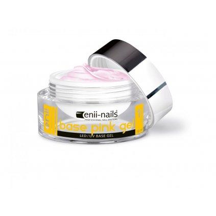 392 eco 1 uv gel podkladovy ruzovy 10 ml