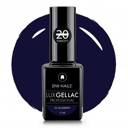 Lux Gel lac 25 Blueberry