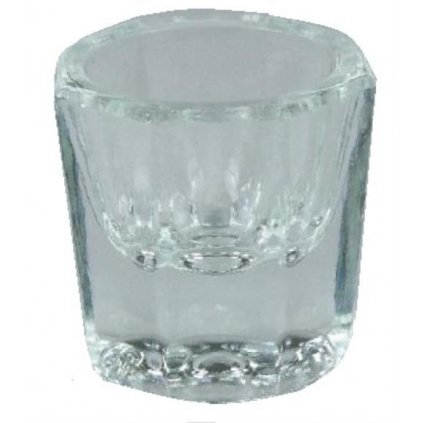 Glass dish clear