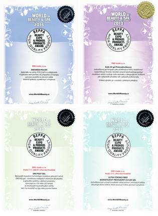 Certifikáty ENII-NAILS