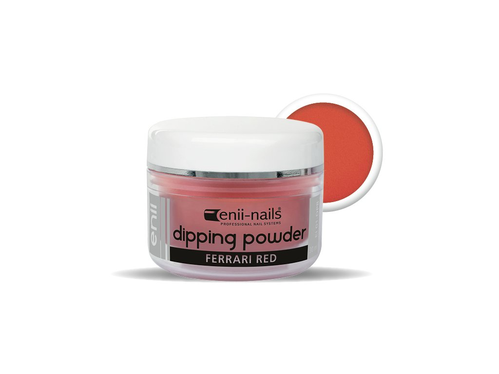 ENII DIPPING POWDER - ferrari red 30 ml
