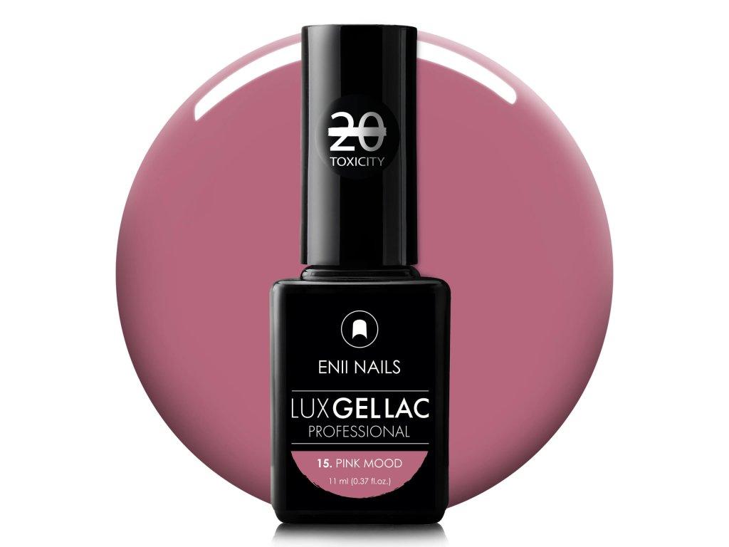 Lux Gel Lac 15. Pink Mood