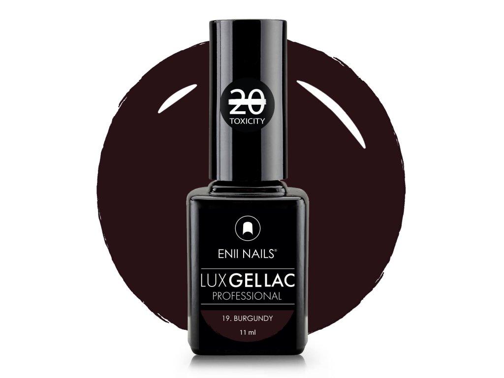 Lux Gel lac 19 Burgundy