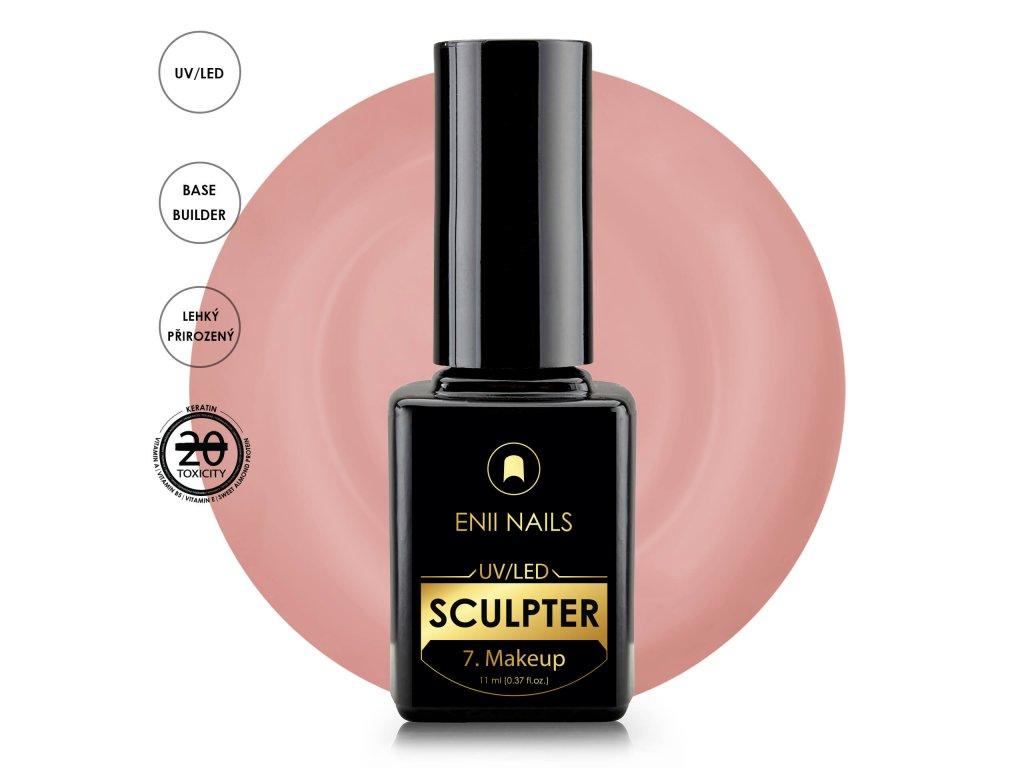 Rubber Sculpter 7.Makeup