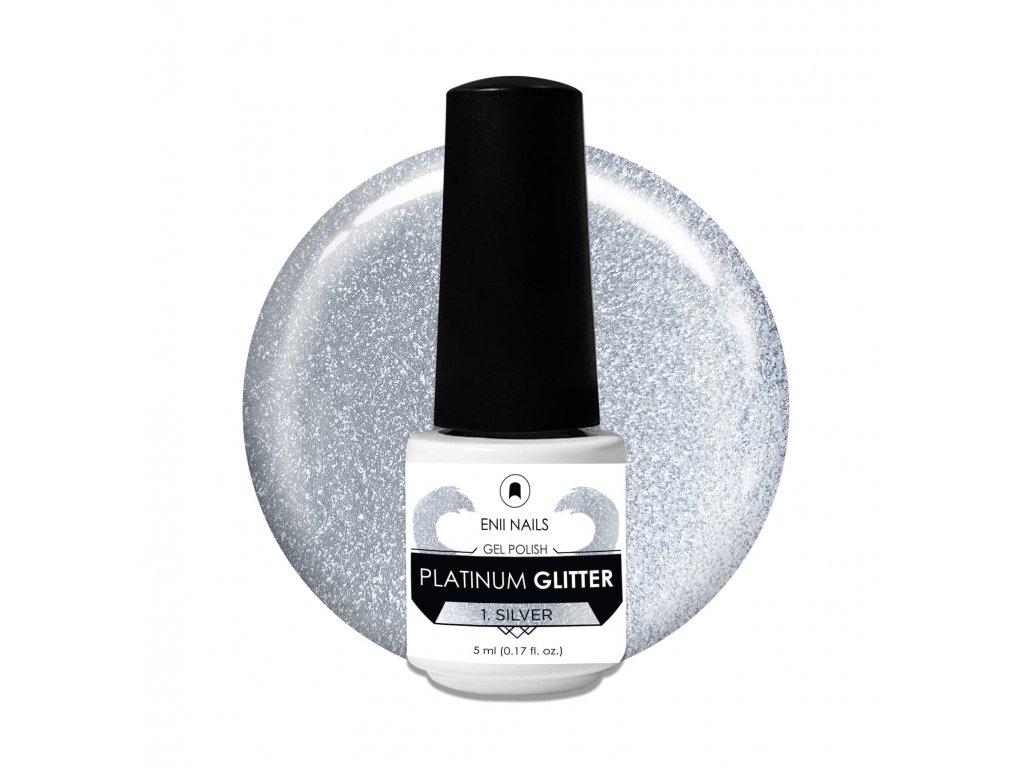 Platinum Glitter 1 Silver