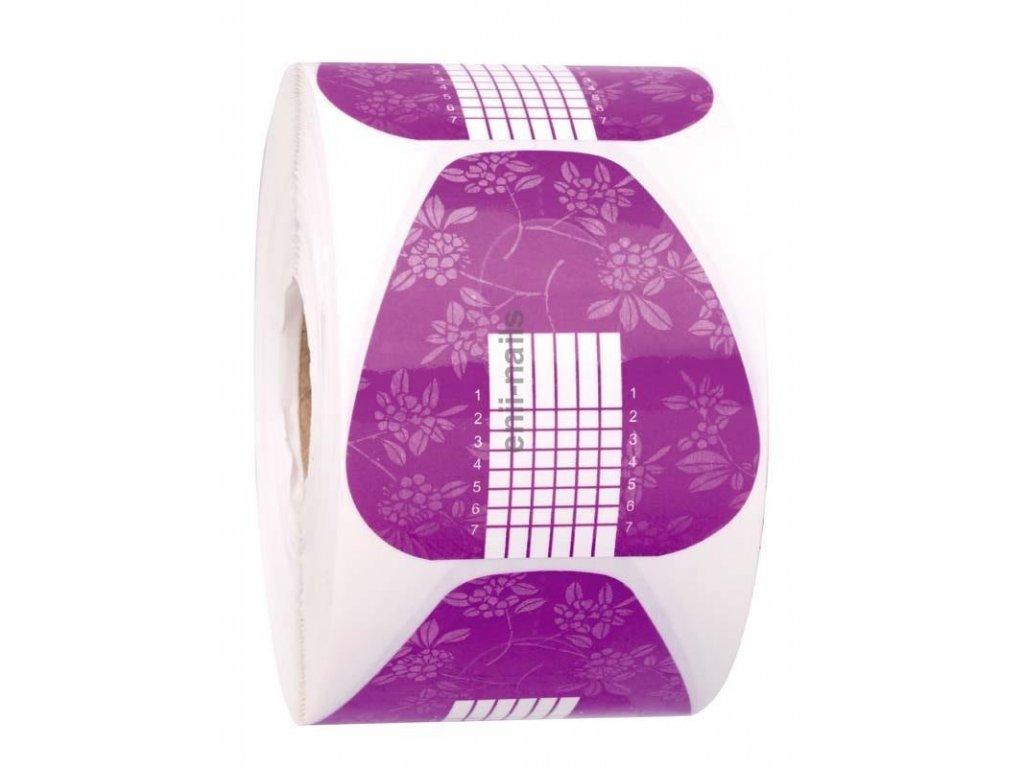 Nehtová forma papírová - fialová 100 ks
