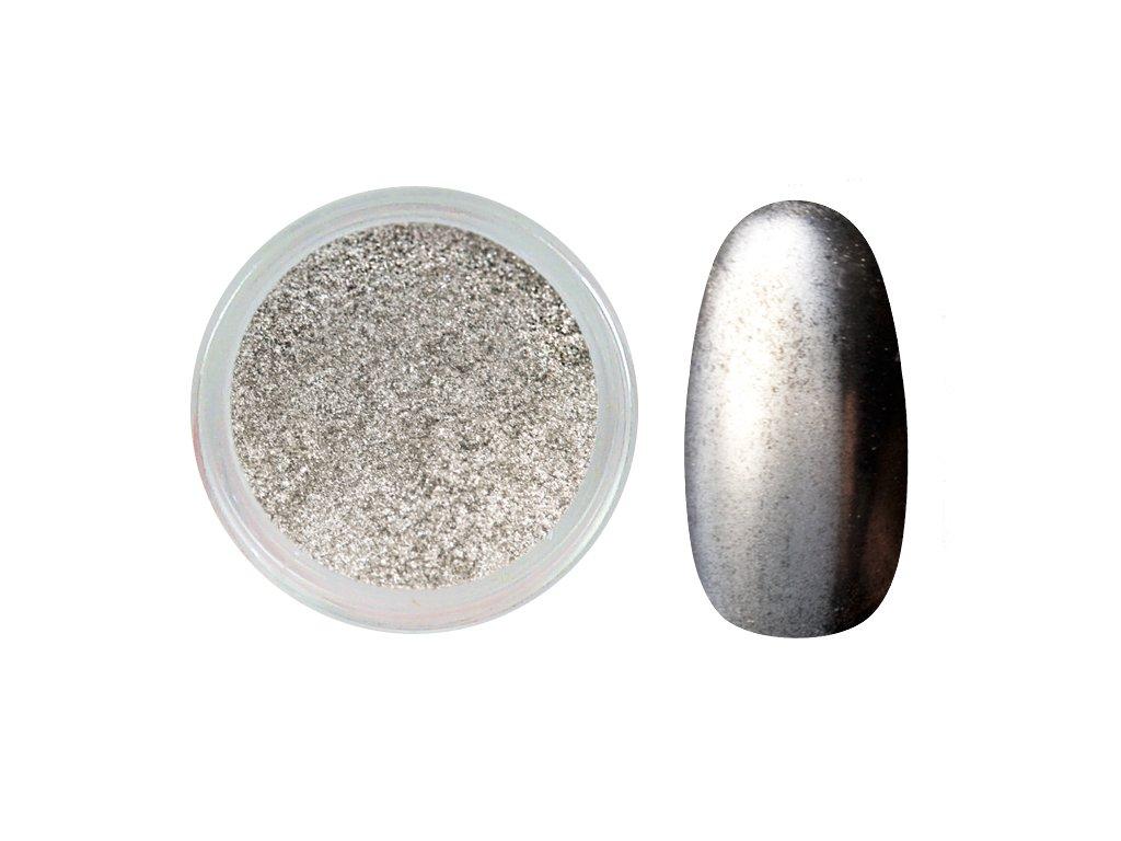 Mirror effect - silver