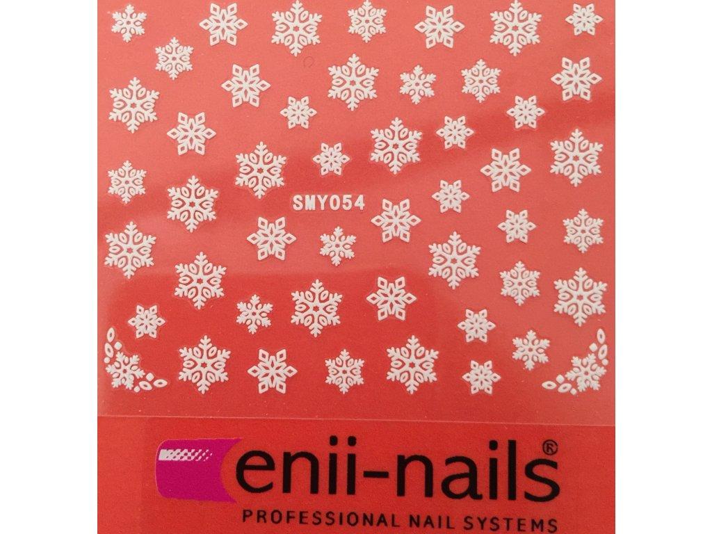 Vánoční nálepka na nehty