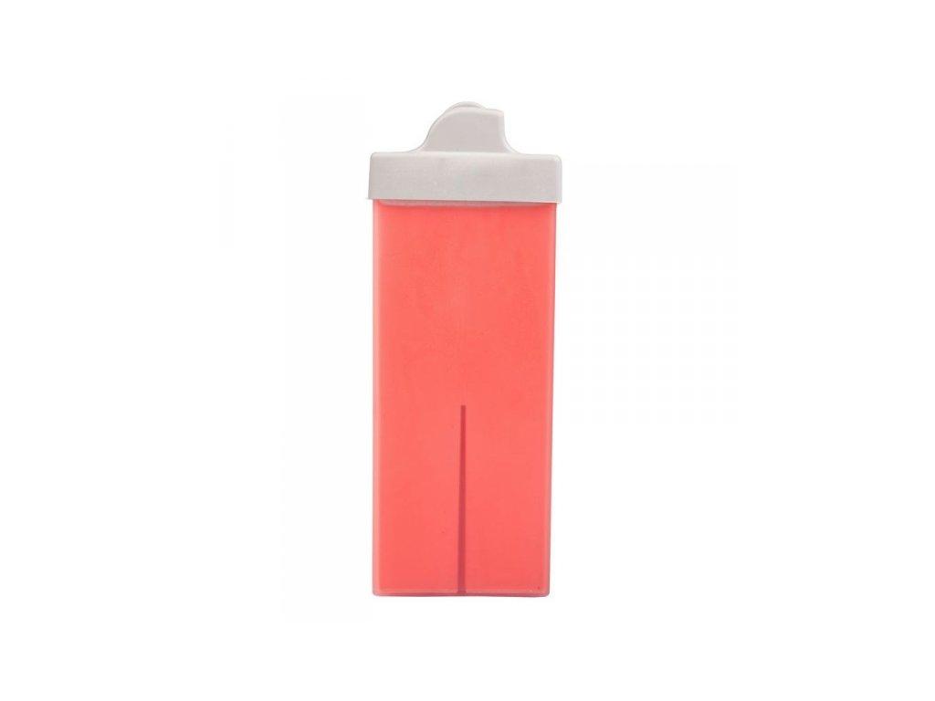 Italwax Depilační olejový vosk TITANOVÝ růžový s pudrem-mini hlavice 100 ml