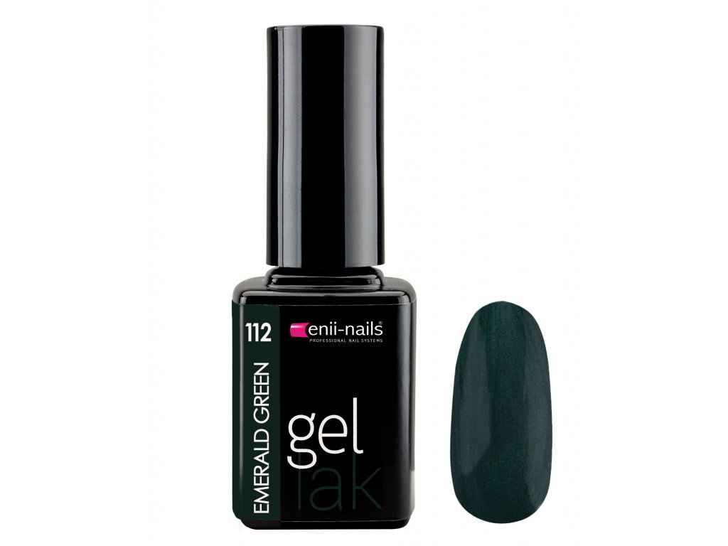 Gel lak 112. Emerald Green 11 ml
