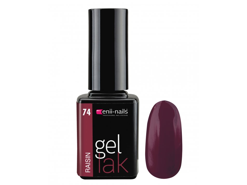 Gel lak 74. Raisin 11 ml