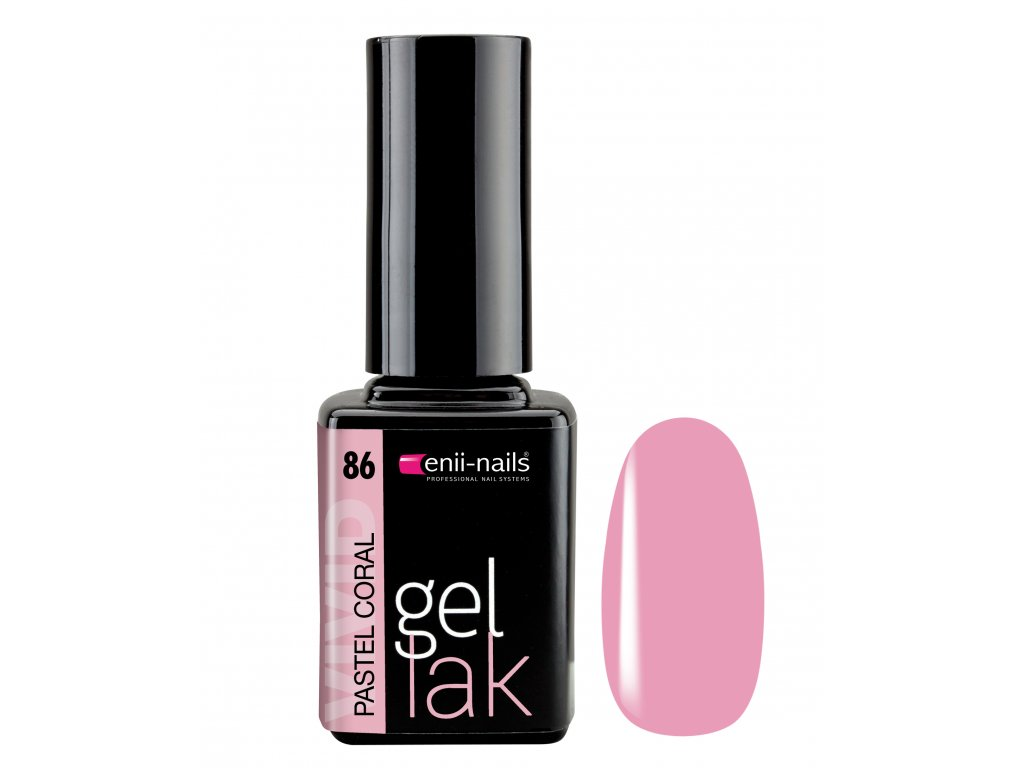 Gel lak 86. Pastel Coral 11 ml