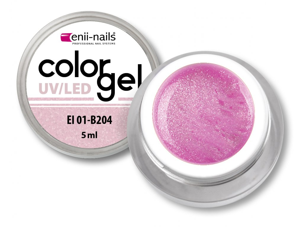 Barevný UV/LED gel 5 ml č.204