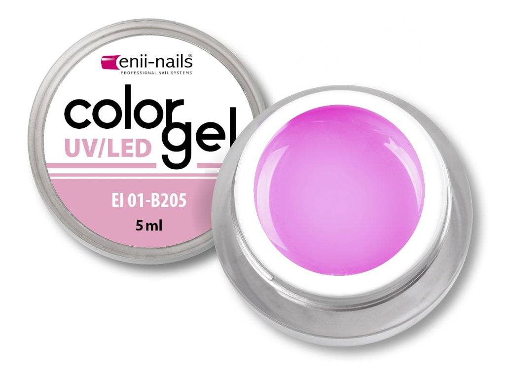 Barevný UV/LED gel 5 ml č.205