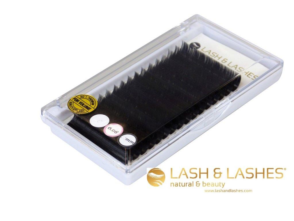 Řasy LASH & LASHES 7 mm