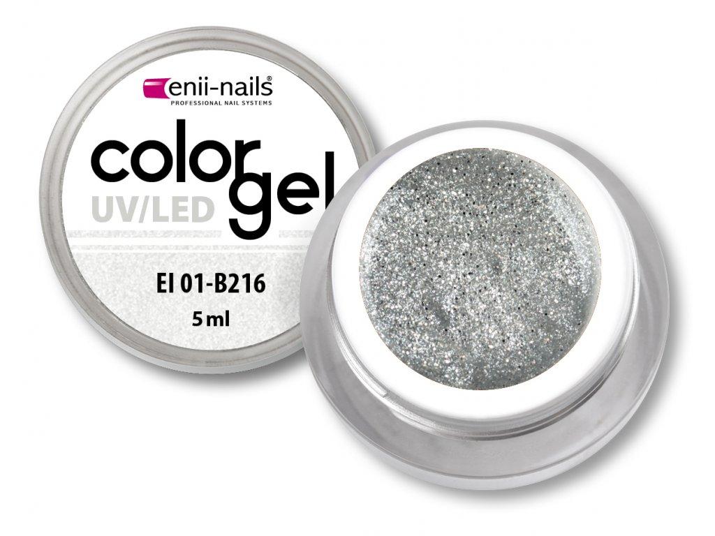 Barevný UV/LED gel 5 ml č.216