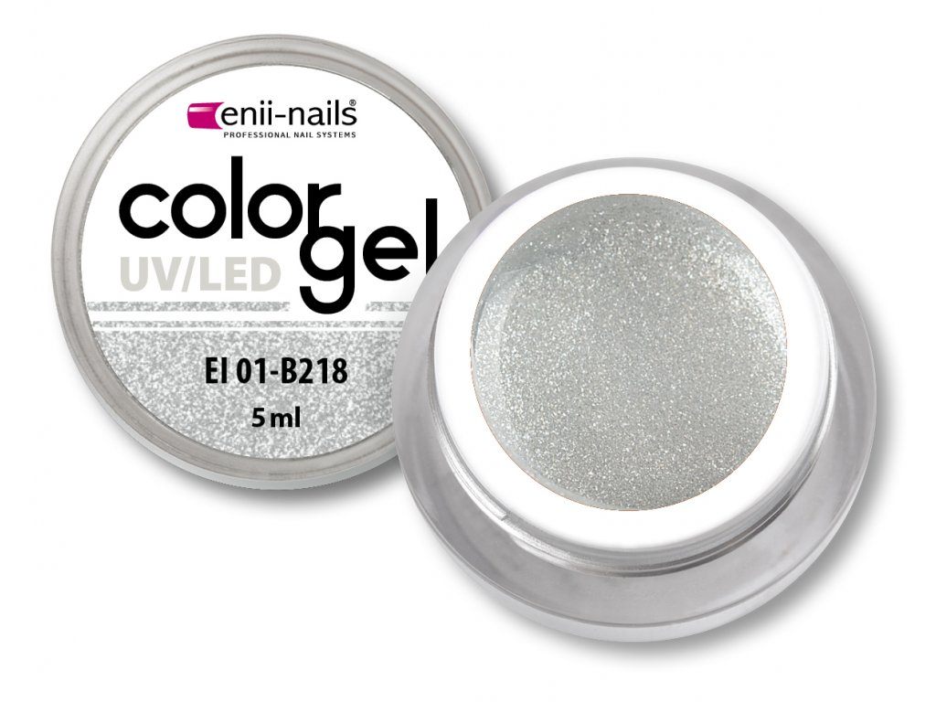 Barevný UV/LED gel 5 ml č.218