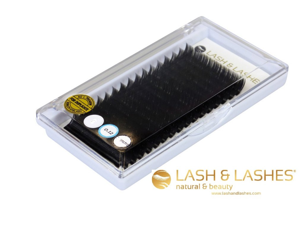 Řasy LASH & LASHES 12 mm