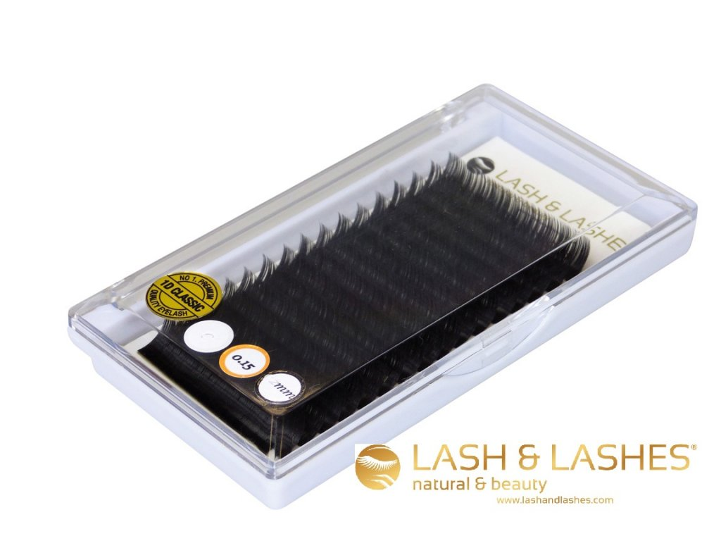 Řasy LASH & LASHES 15 mm