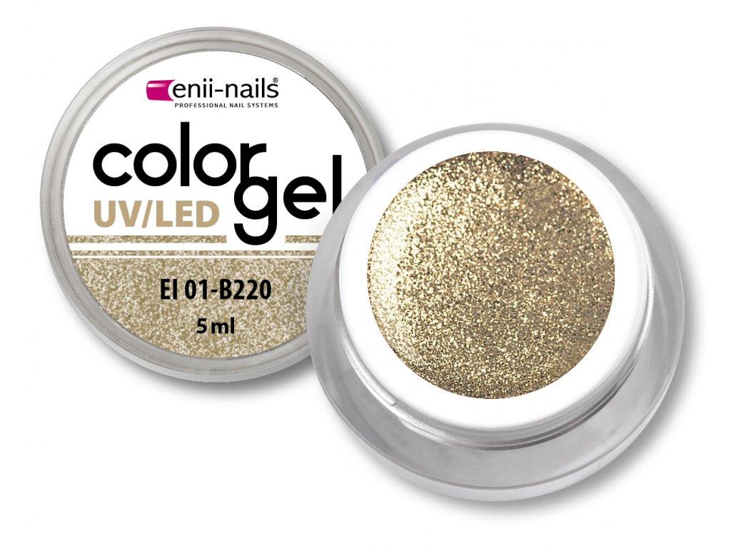 Barevný UV/LED gel 5 ml č.220