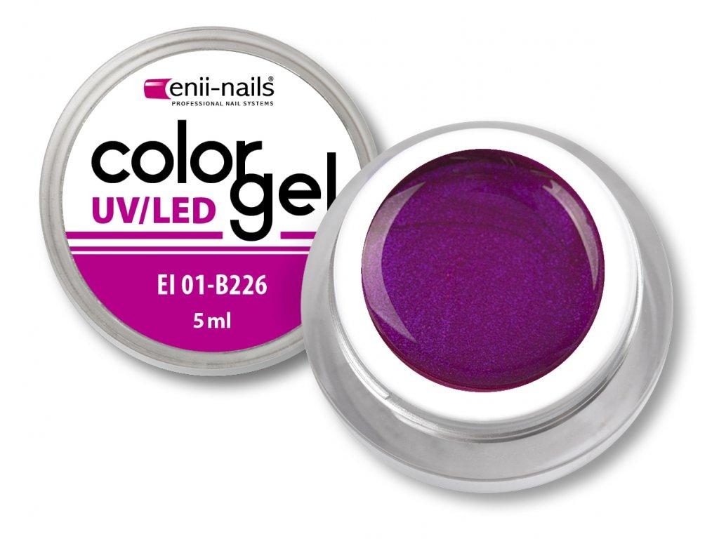 Barevný UV/LED gel 5 ml č.226