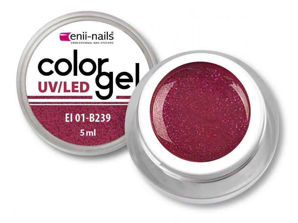 Barevný UV/LED gel 5 ml č.239