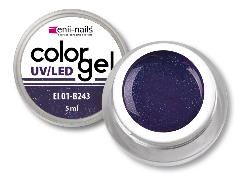 Barevný UV/LED gel 5 ml č.243
