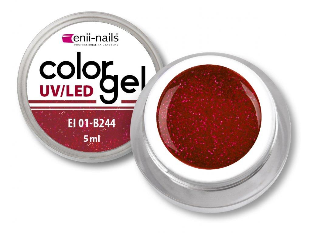 Barevný UV/LED gel 5 ml č.244