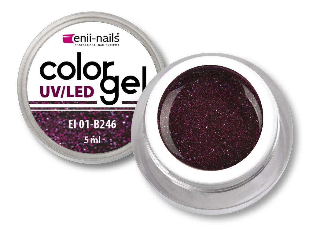 Barevný UV/LED gel 5 ml č.246