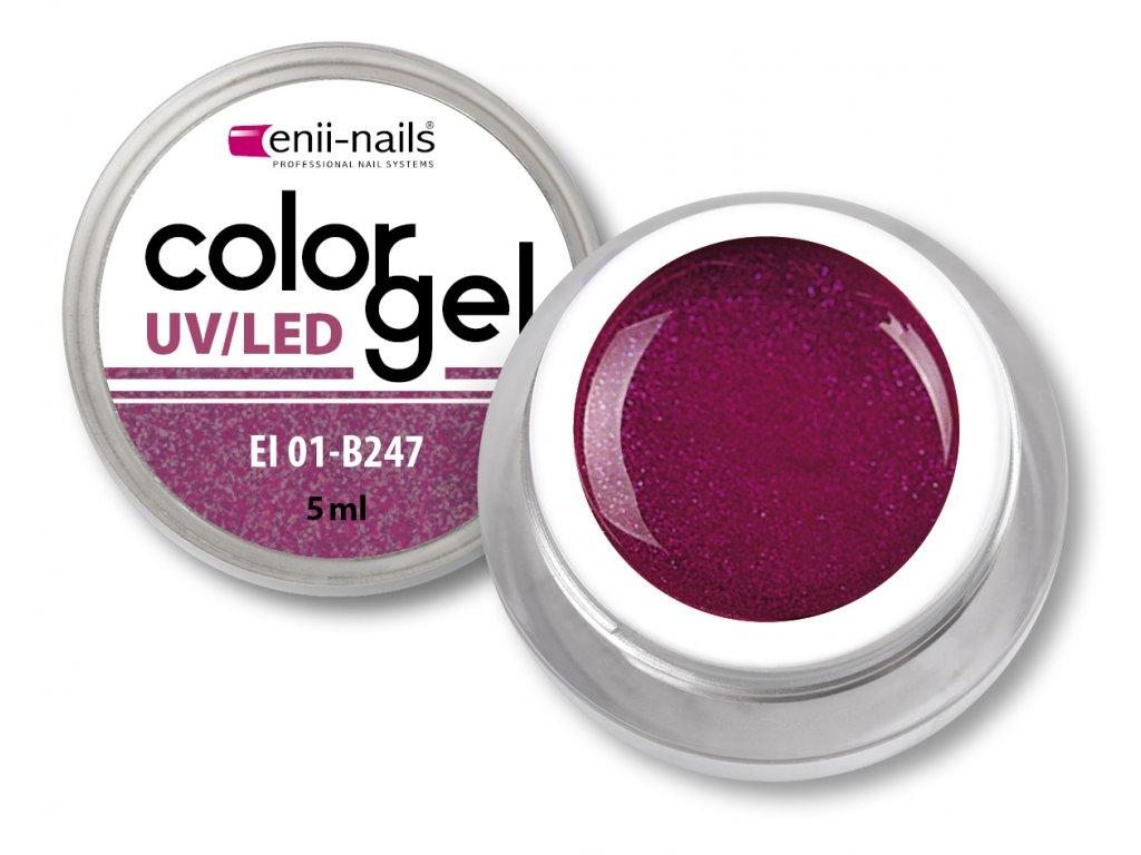 Barevný UV/LED gel 5 ml č.247