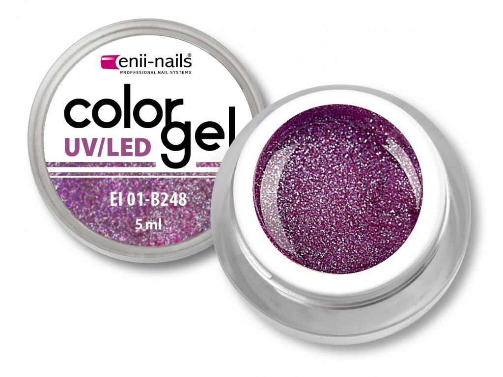 Barevný UV/LED gel 5 ml č.248