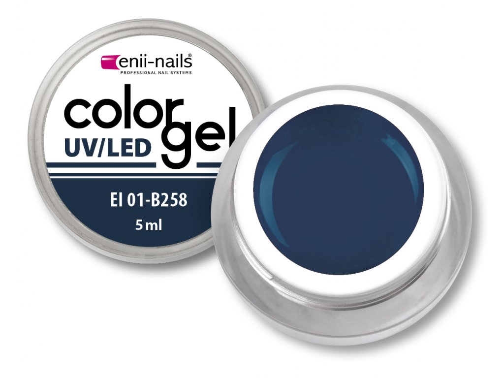 Barevný UV/LED gel 5 ml č.258