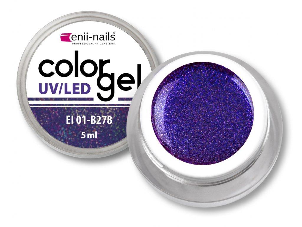 Barevný UV/LED gel 5 ml č.278
