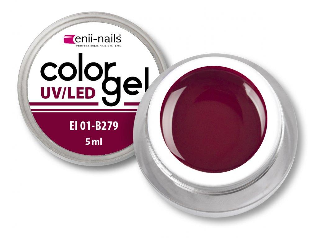 Barevný UV/LED gel 5 ml č.279