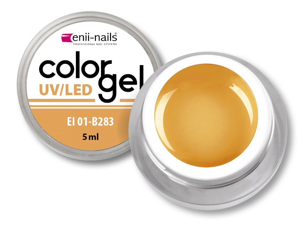 Barevný UV/LED gel 5 ml č.283