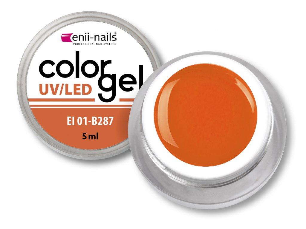 Barevný UV/LED gel 5 ml č.287