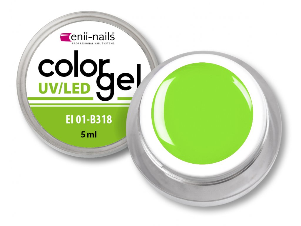 Barevný UV/LED gel 5 ml č.318