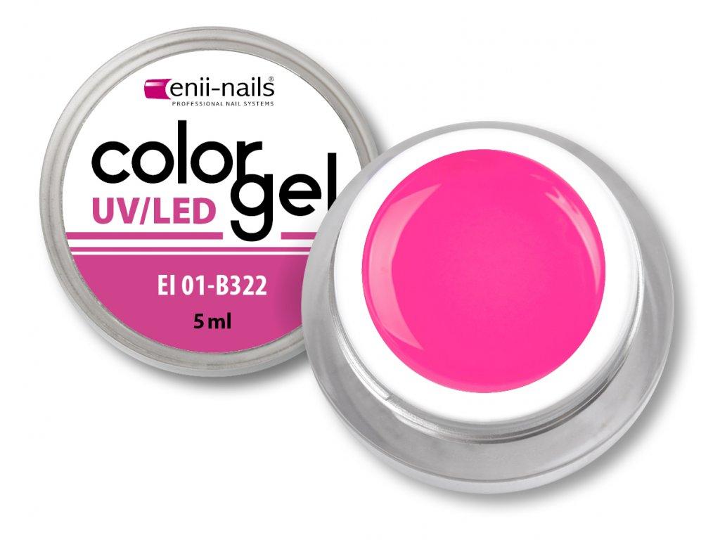 Barevný UV/LED gel 5 ml č.322