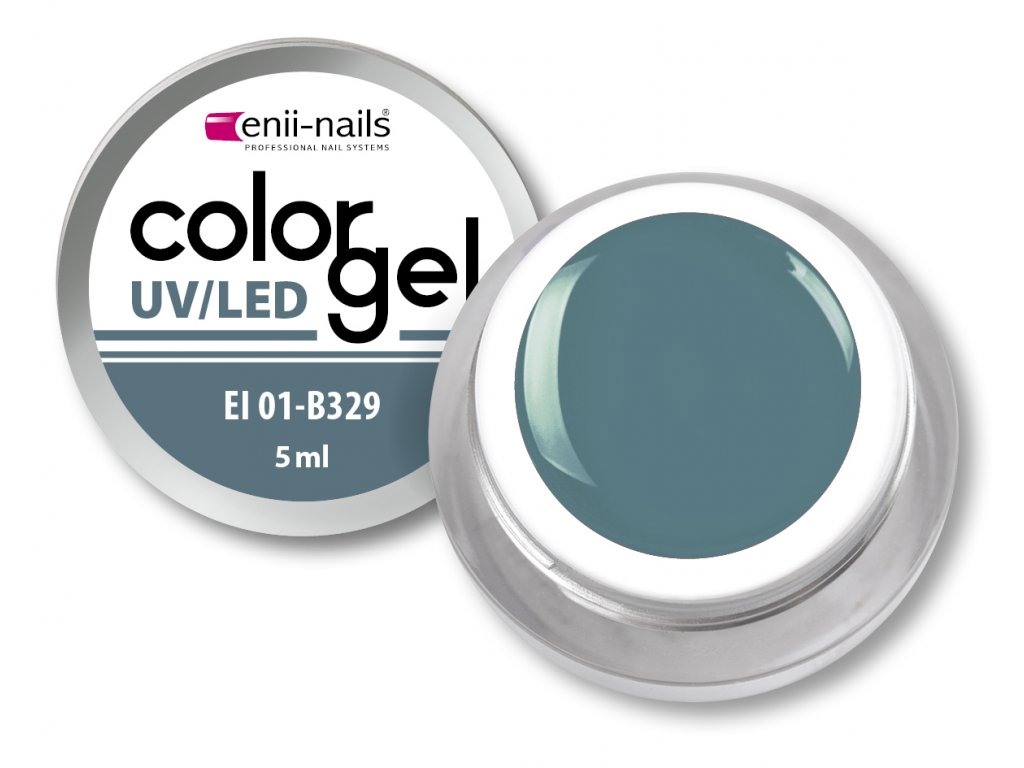 Barevný UV/LED gel 5 ml č.329