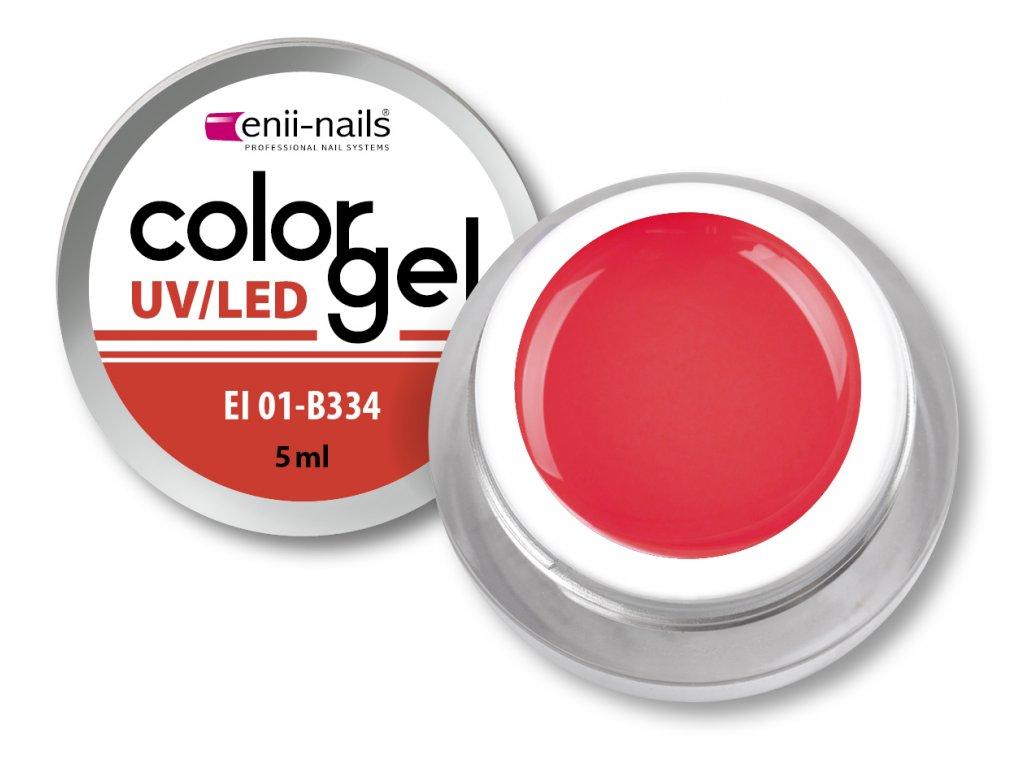 Barevný UV/LED gel 5 ml č.334