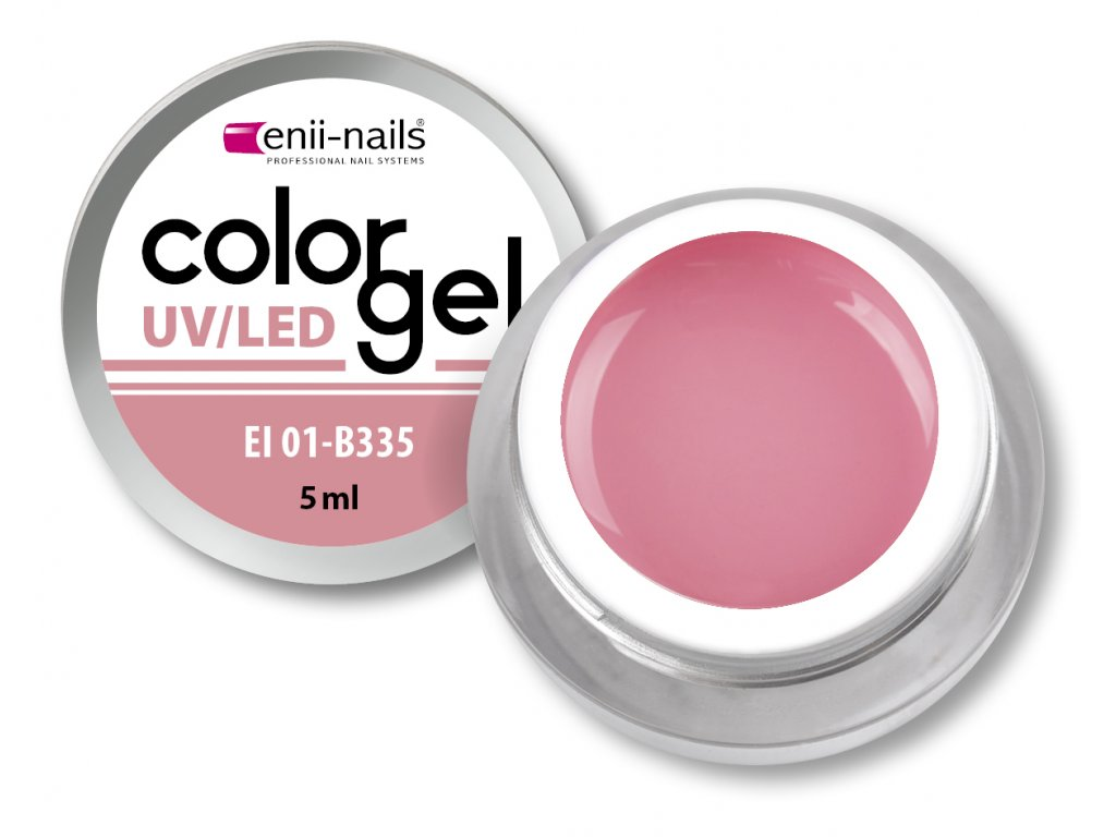 Barevný UV/LED gel 5 ml č.335