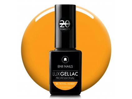 Lux Gel lac 21 Royal amber