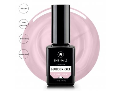Builder Gel 2 Milky Pink