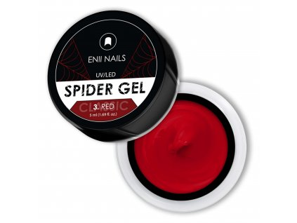 CLASSIC SPIDER GEL 3 RED 32X32mm 2