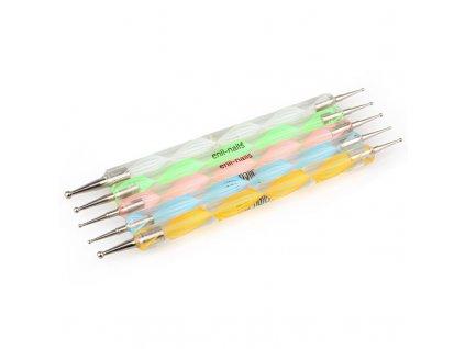 Set zdobících tyčinek s kulatým hrotem 5 ks