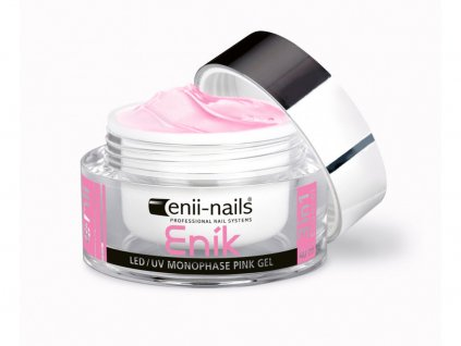 ENÍK - LED/UV gel pink jednofázový 40 ml