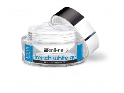 UV gel french bílý 10 ml