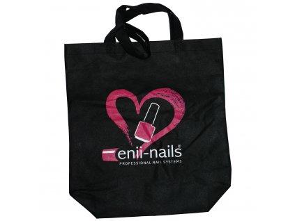 Černá taška z netkané textílie enii-nails