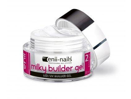 UV gel modelovací french mléčně bílý 40 ml