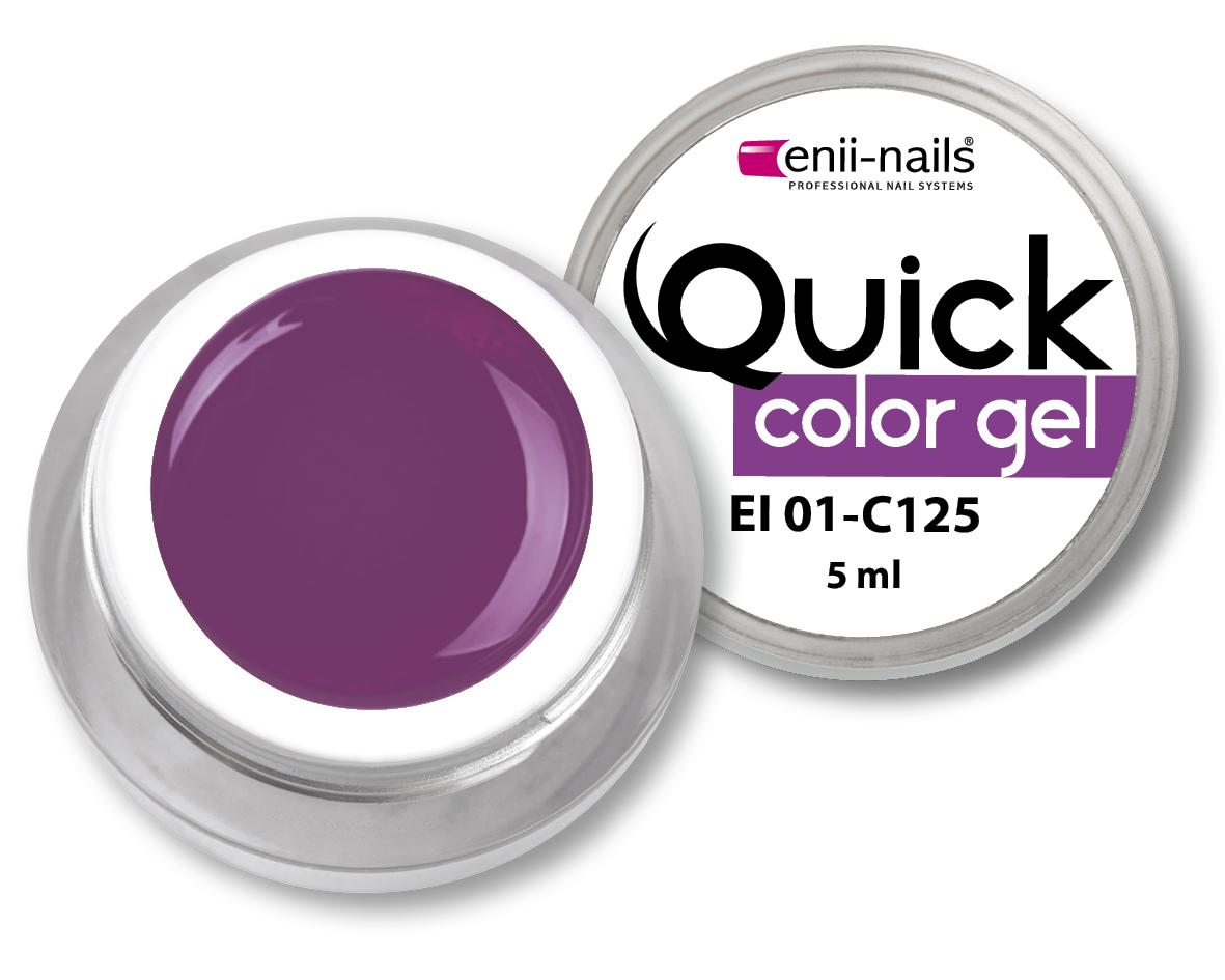 ENII-NAILS Quick Color Gel č.125 5 ml